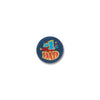 #1 Dad Satin Button by Beistle - Father's Day Theme Decorations