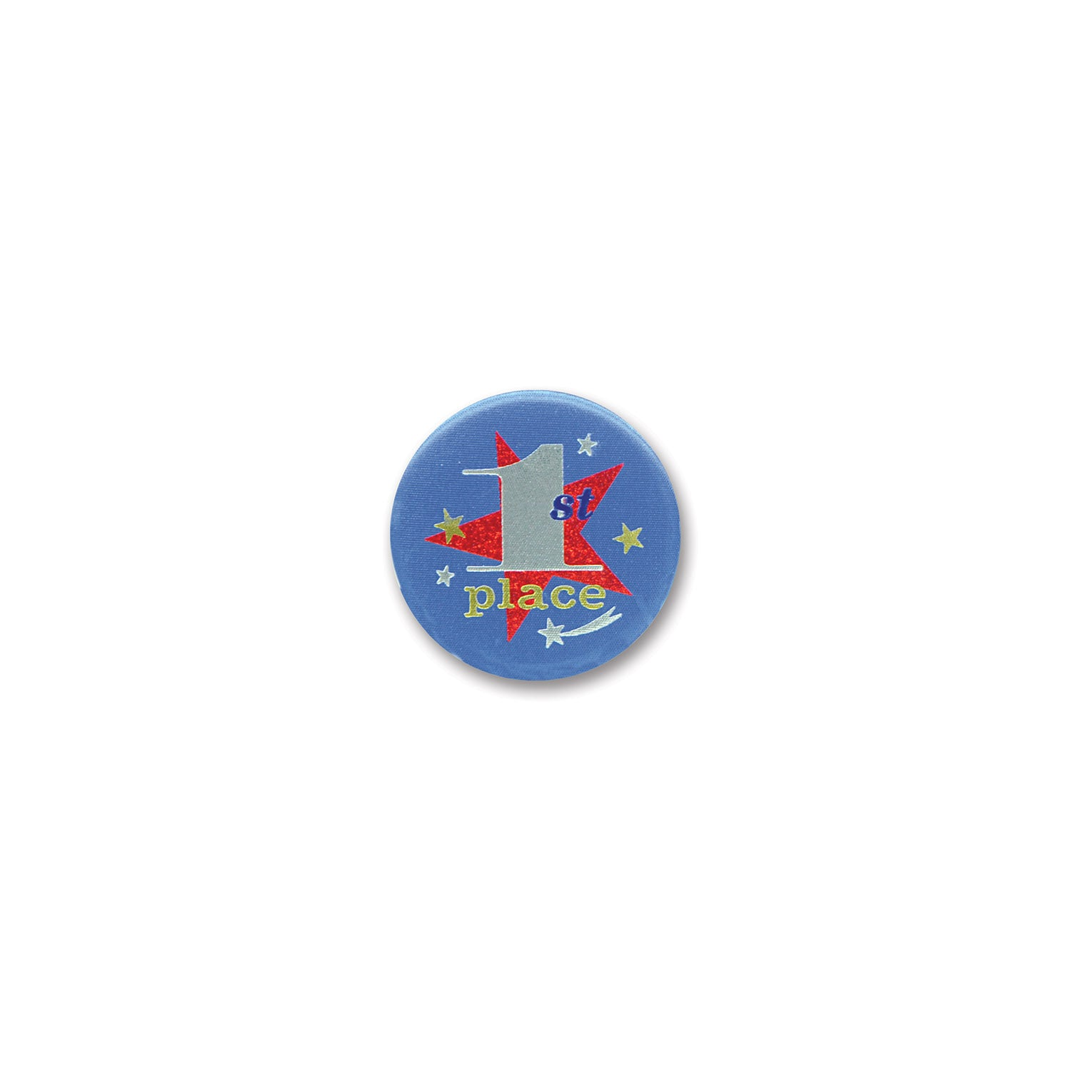 1st Place Satin Button by Beistle - Sports Theme Decorations