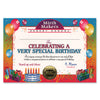 Very Special Birthday Certificate by Beistle - Birthday Party Supplies Decorations