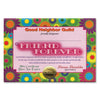 Friend Forever Certificate by Beistle - General Occasion Decorations