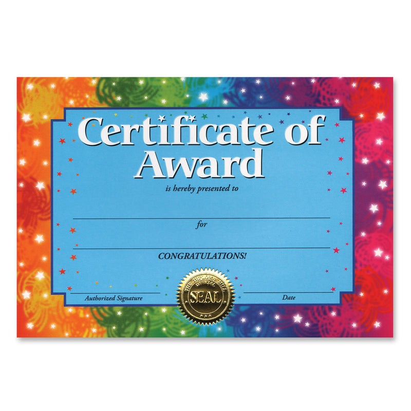 Certificate Of Award by Beistle - School Awards and Supplies Decorations