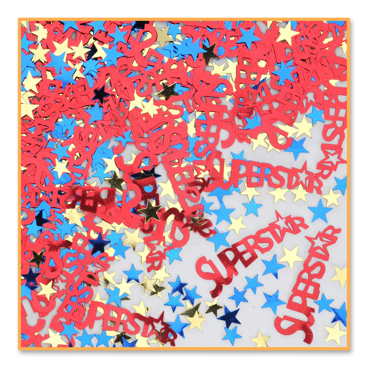 Super Star Confetti (.5 Oz/Pkg) by Beistle - Sports Theme Decorations