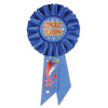 Congratulations Rosette by Beistle - Baby Shower Theme Decorations