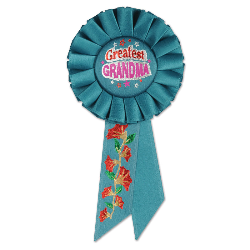 Greatest Grandma Rosette by Beistle - Mother's Day Theme Decorations