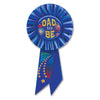 Dad To Be Rosette by Beistle - Baby Shower Theme Decorations