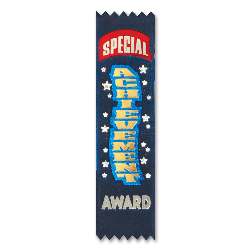 Special Achievement Value Pack Ribbons (10/Pkg) by Beistle - School Awards and Supplies Decorations