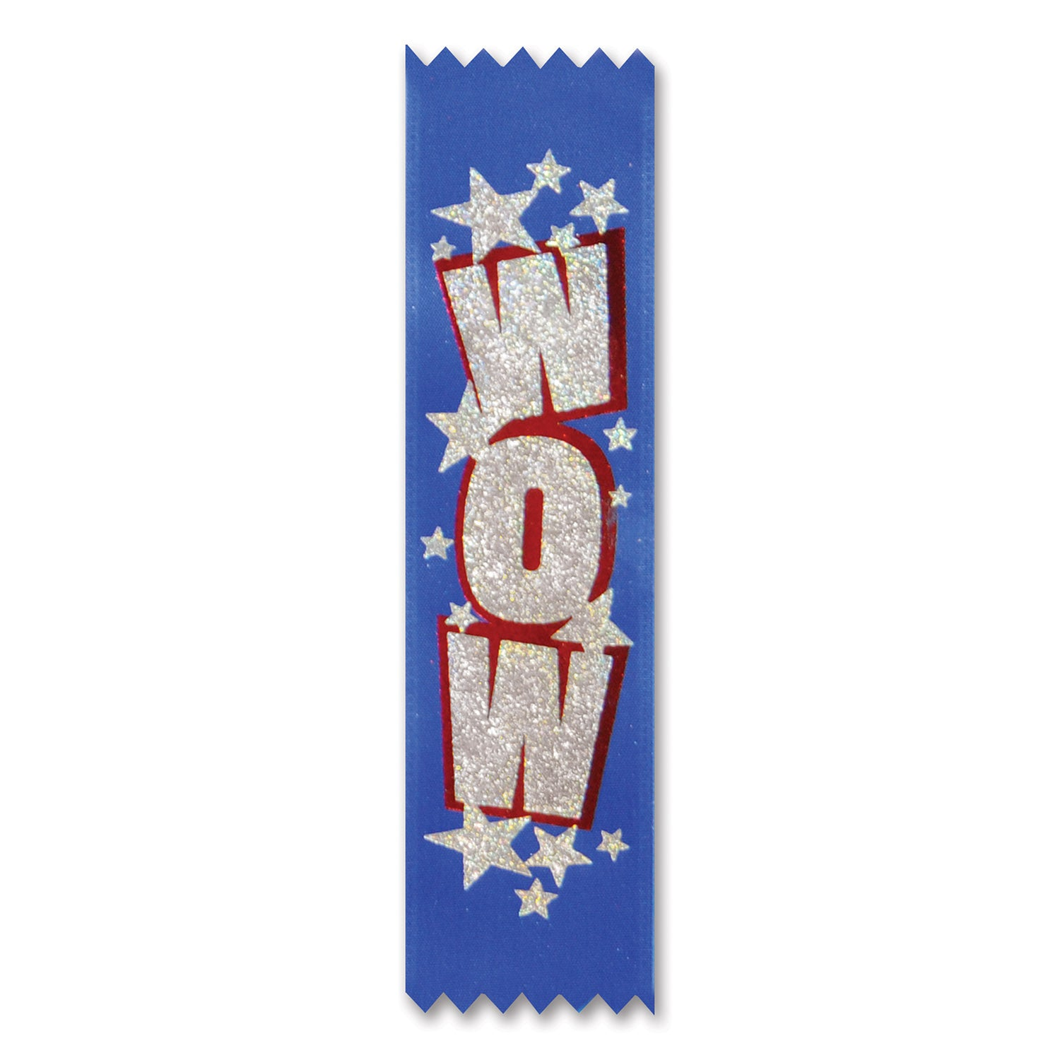 Wow Value Pack Ribbons (10/Pkg) by Beistle - School Awards and Supplies Decorations