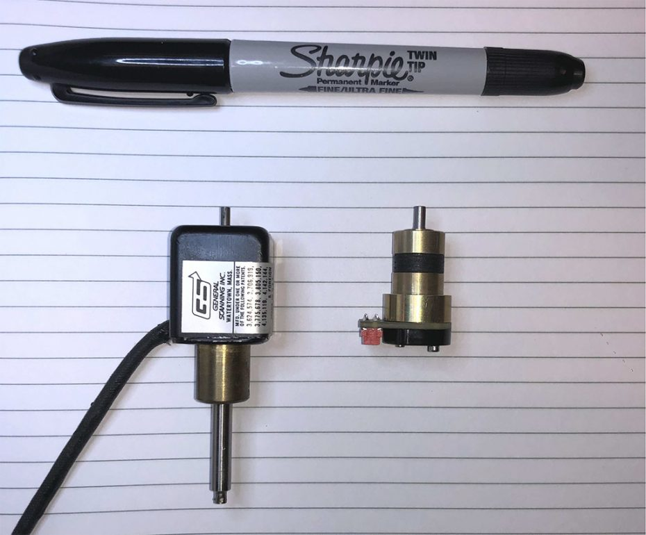 Sharpie compared to compact 506 scanner