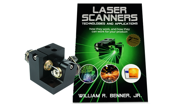 Saturn 1 Galvo Scanner with Laser Scanners Book