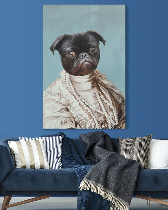 Funny Canvas - Funny Dogs An Amusing Face Customized Photo Canvas - LOP Store