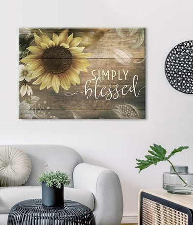 Life Canvas - Simply Blessed Canvas