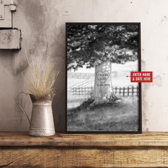 Love Canvas - Memory Tree Personalized Canvas - LOP Store