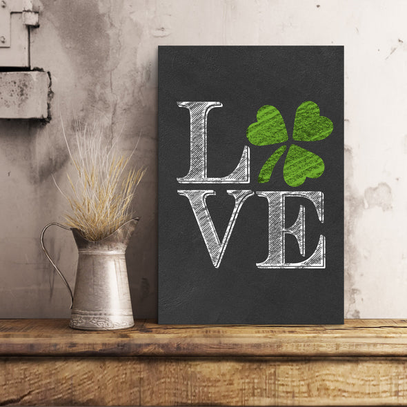 Canvas Gift - The Patrick's Day Love Canvas - LOP Store