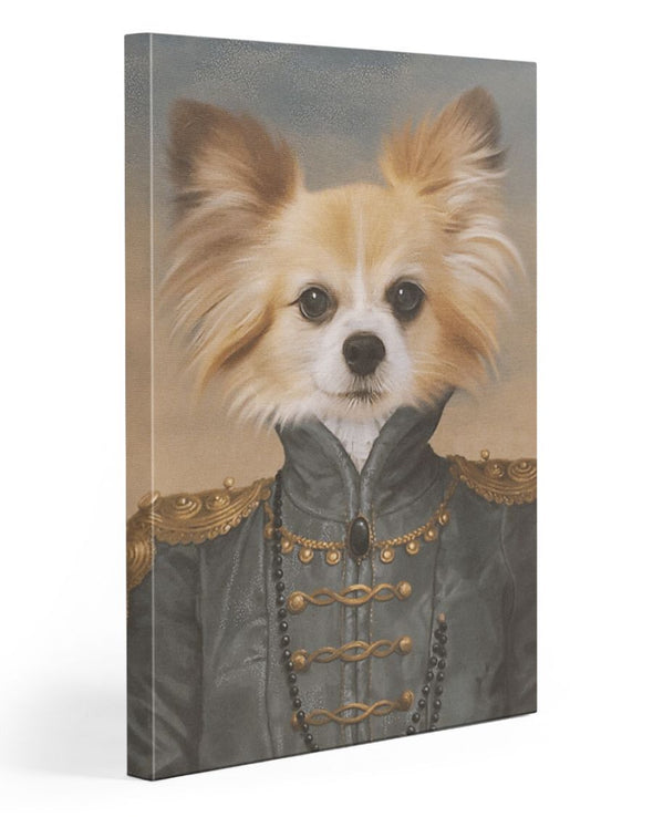Funny Canvas - Funny Dogs A Model Face Customized Photo Canvas - LOP Store