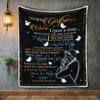Girlfriend Blanket - To My Girlfriend Once Upon A Time I Wrote Your Name In My Heart and Forever It Will Stay Fleece Blanket - LOP Store