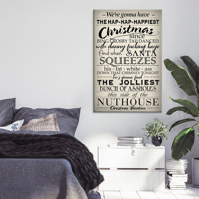 Canvas Gift - We're Gonna Have The Hap-Hap Happiest Christmas Vacation Canvas - LOP Store