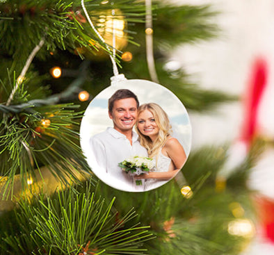 Personalized Photo Ornaments - Christmas Gifts for Family and Friends Photo Ornaments