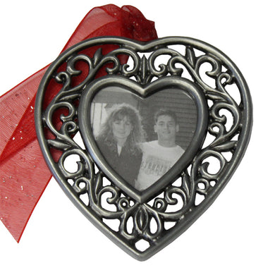 Heart Frame Memorial Ornament
