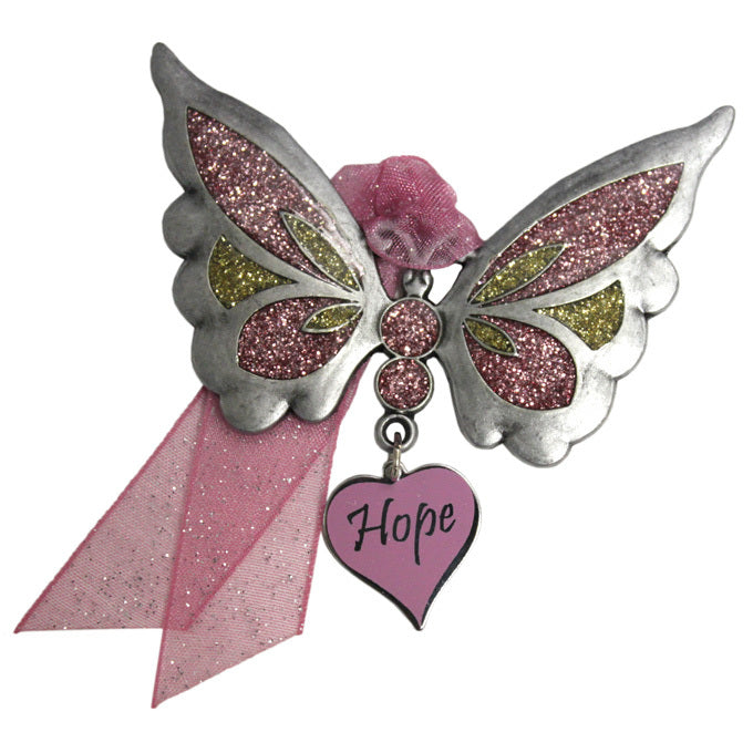 Hope Butterfly Ornament