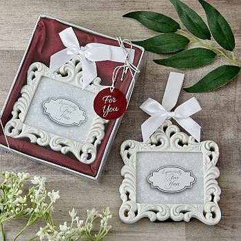 Baroque Mini Frame Memorial Ornament