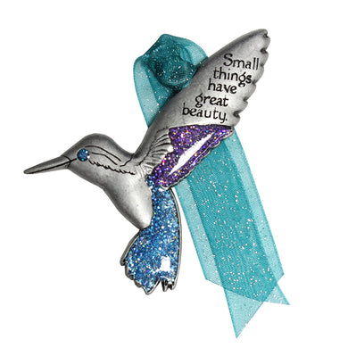 Hummingbird Memorial Ornament