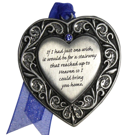 Stairway Remembrance Heart Ornament