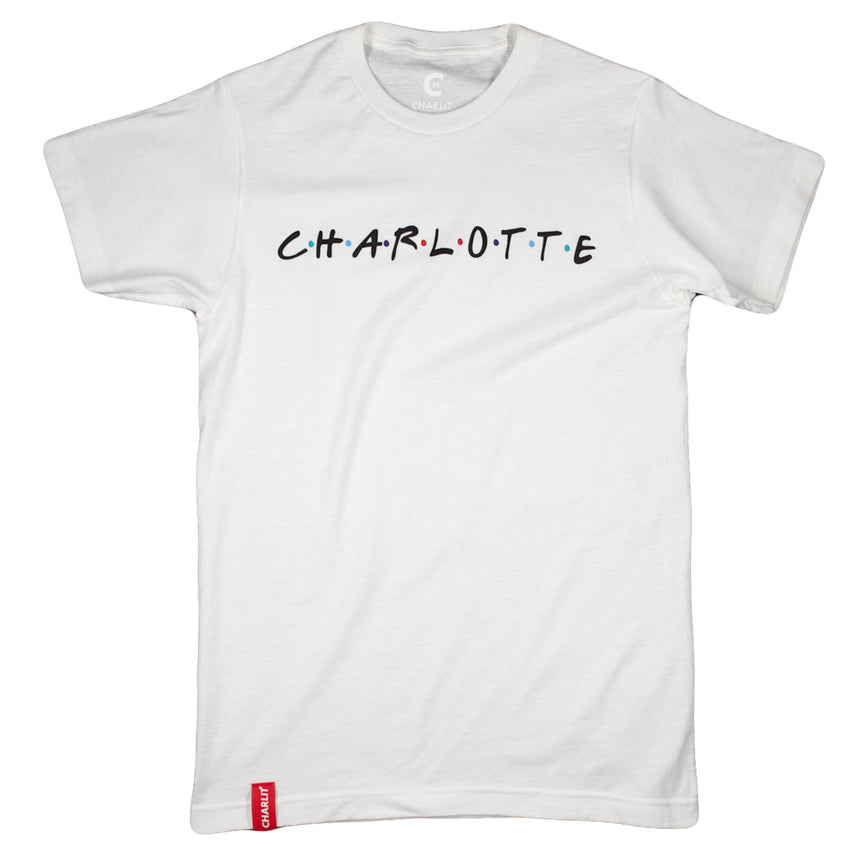 Charlotte Friends Tee - White