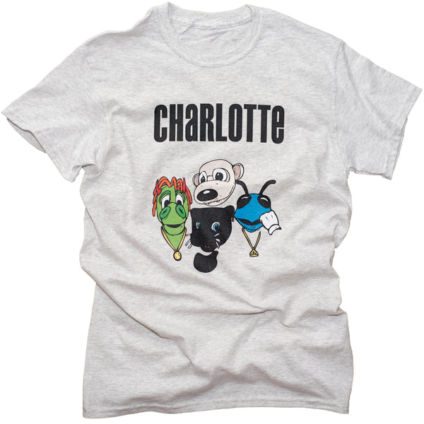 Charlotte Vibe Tee - Heather White