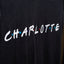 Charlotte Friends Tee - Black