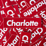 Box Charlotte Stickers