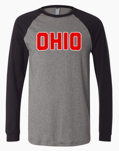 """Game Day Ohio"" Long Sleeve"
