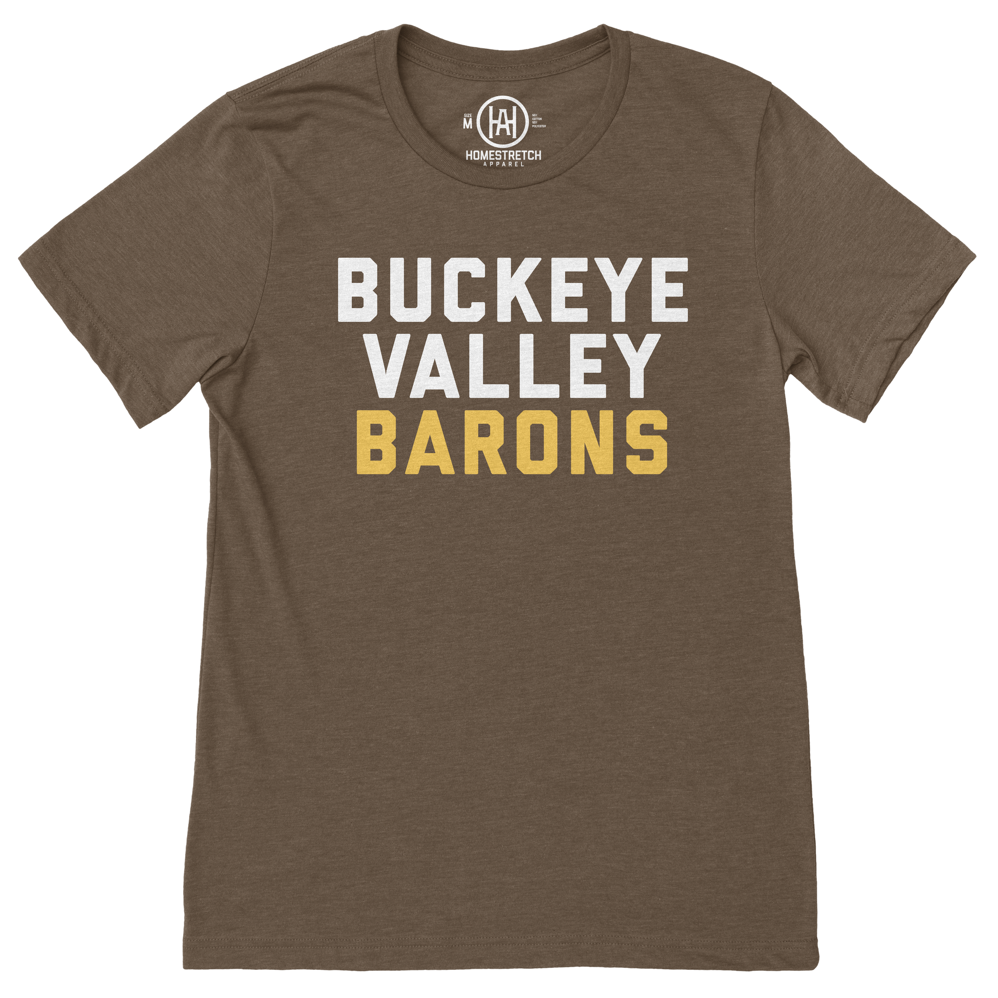 """Buckeye Valley Text"" T-Shirt"