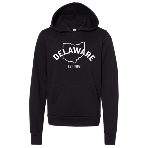 """Homestretch Delaware Ohio"" YOUTH Pullover Hoodie"