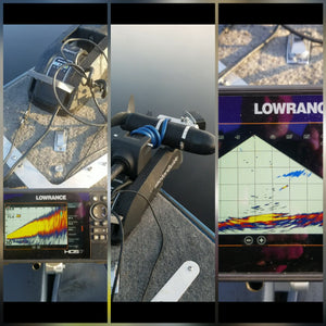 RyTek Lowrance LiveSight Dual Purpose Multi-Fit Bottom-Mount