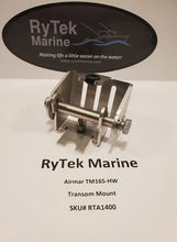 Load image into Gallery viewer, RyTek Marine TM165HW/P66 Transom Mount