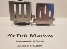 Load image into Gallery viewer, RyTek Marine RTH1000 Humminbird MEGA Imaging transom Transducer Mount