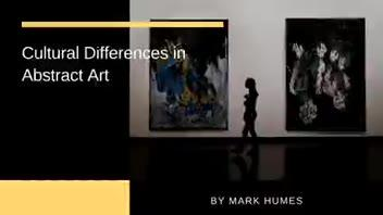 Cultural Differences in Abstract Art ▶
