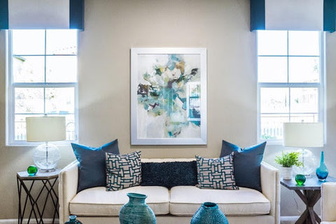 Sprucing Up Your Small Living Room with Exquisite Abstract Art
