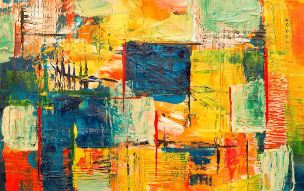 how do you paint abstract art?