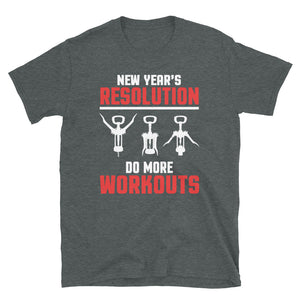 Do More Workouts Short-Sleeve T-Shirt - Crazy About Tshirts