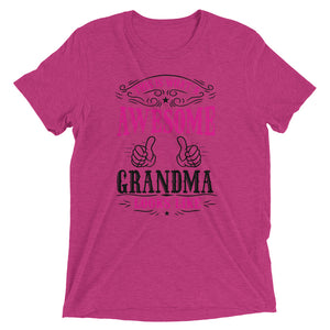 Awesome Grandma Short sleeve t-shirt - Crazy About Tshirts