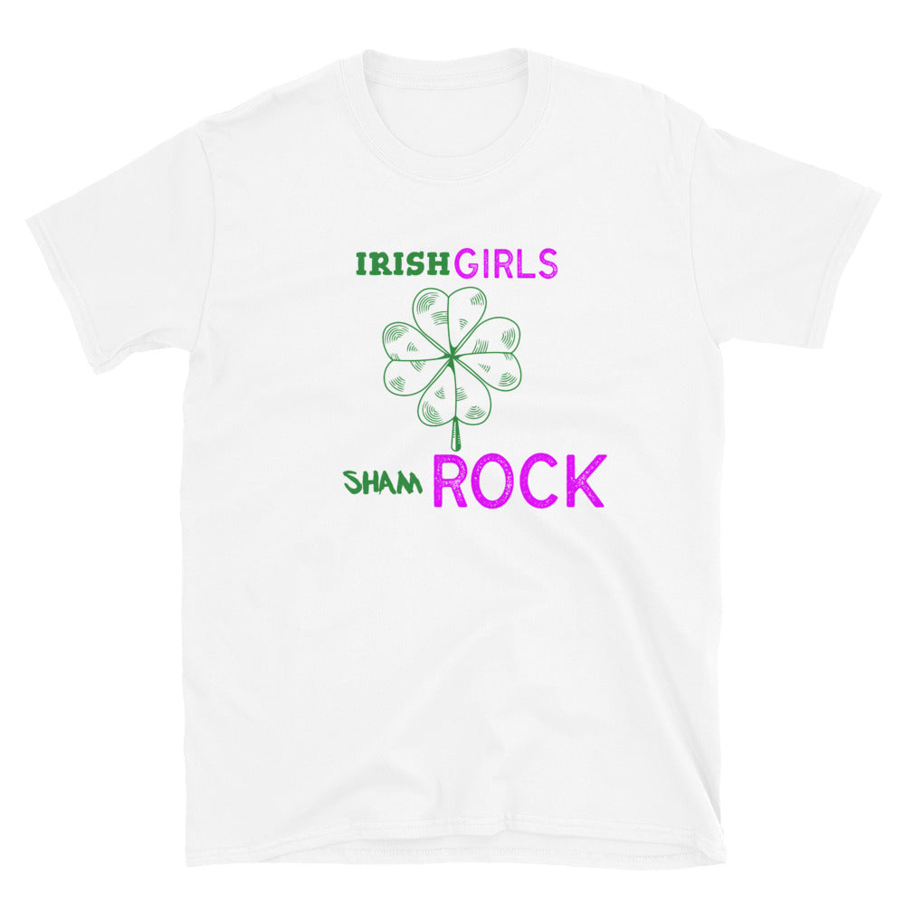 Irish Girls shamRock T-Shirt - Crazy About Tshirts