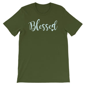 Blessed Women's Short-Sleeve T-Shirt - Crazy About Tshirts