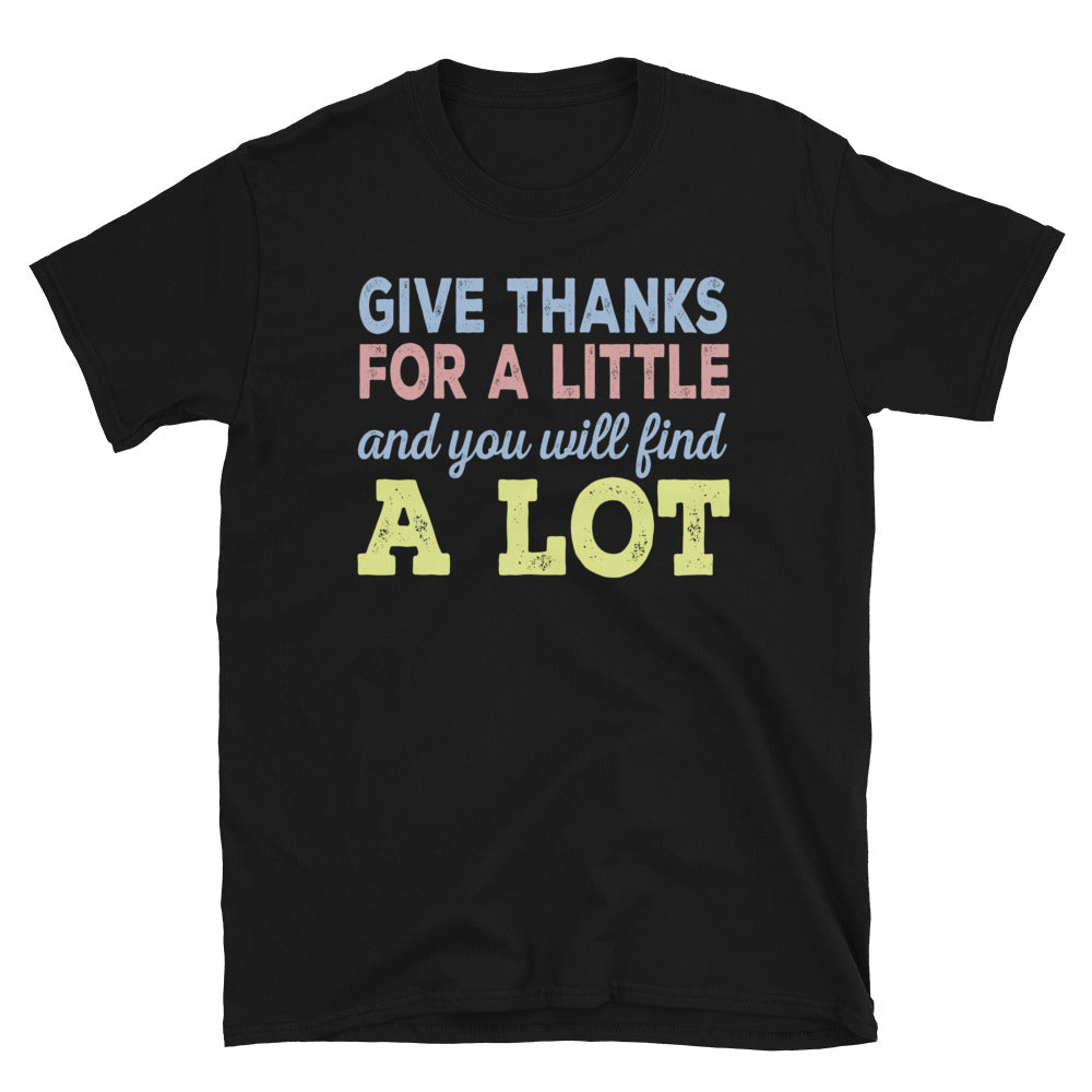 Give Thanks Women's Softstyle Gildan T-Shirt - Crazy About Tshirts