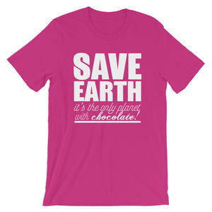 Save Earth Short-Sleeve Unisex T-Shirt