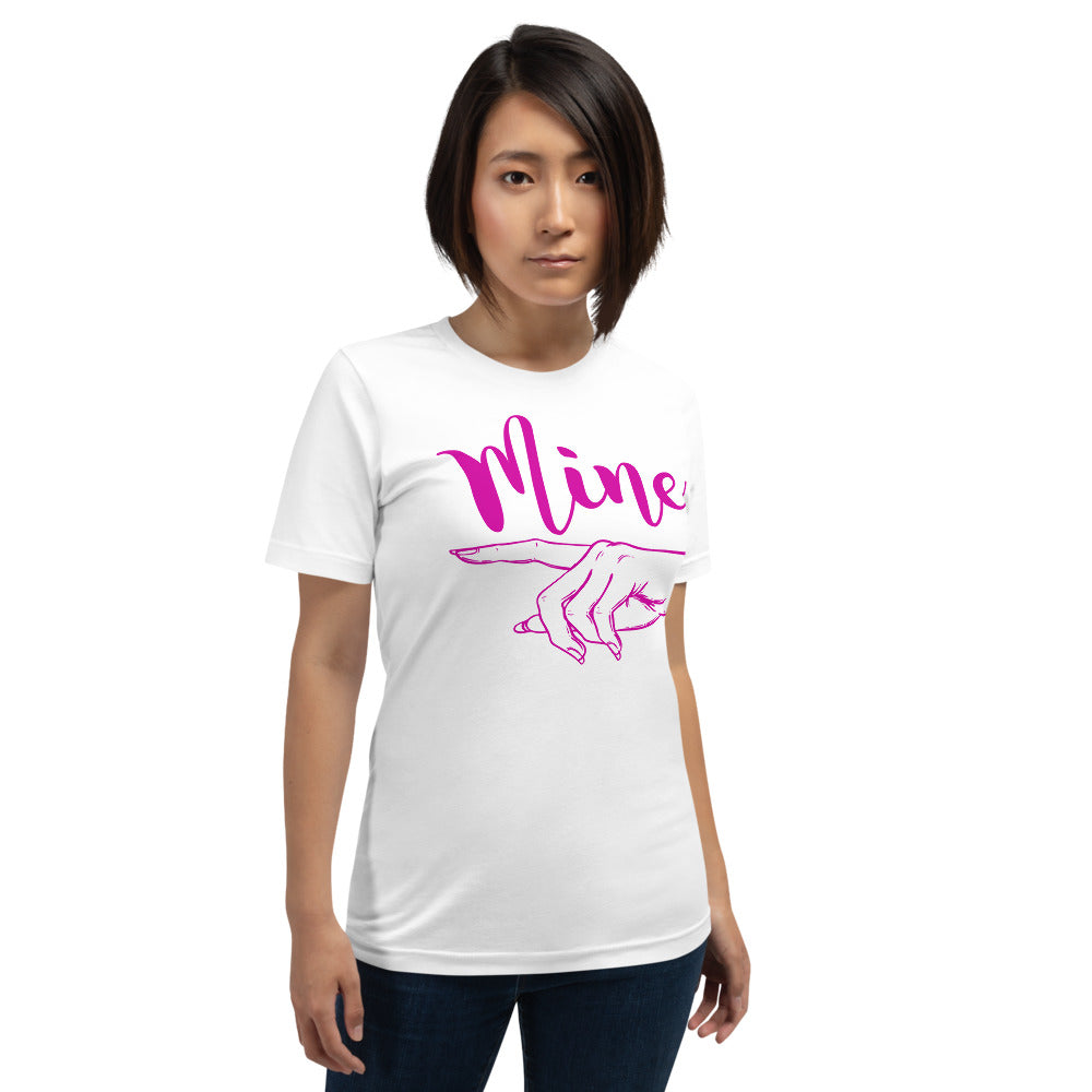 He's Mine Women's T-Shirt - Crazy About Tshirts
