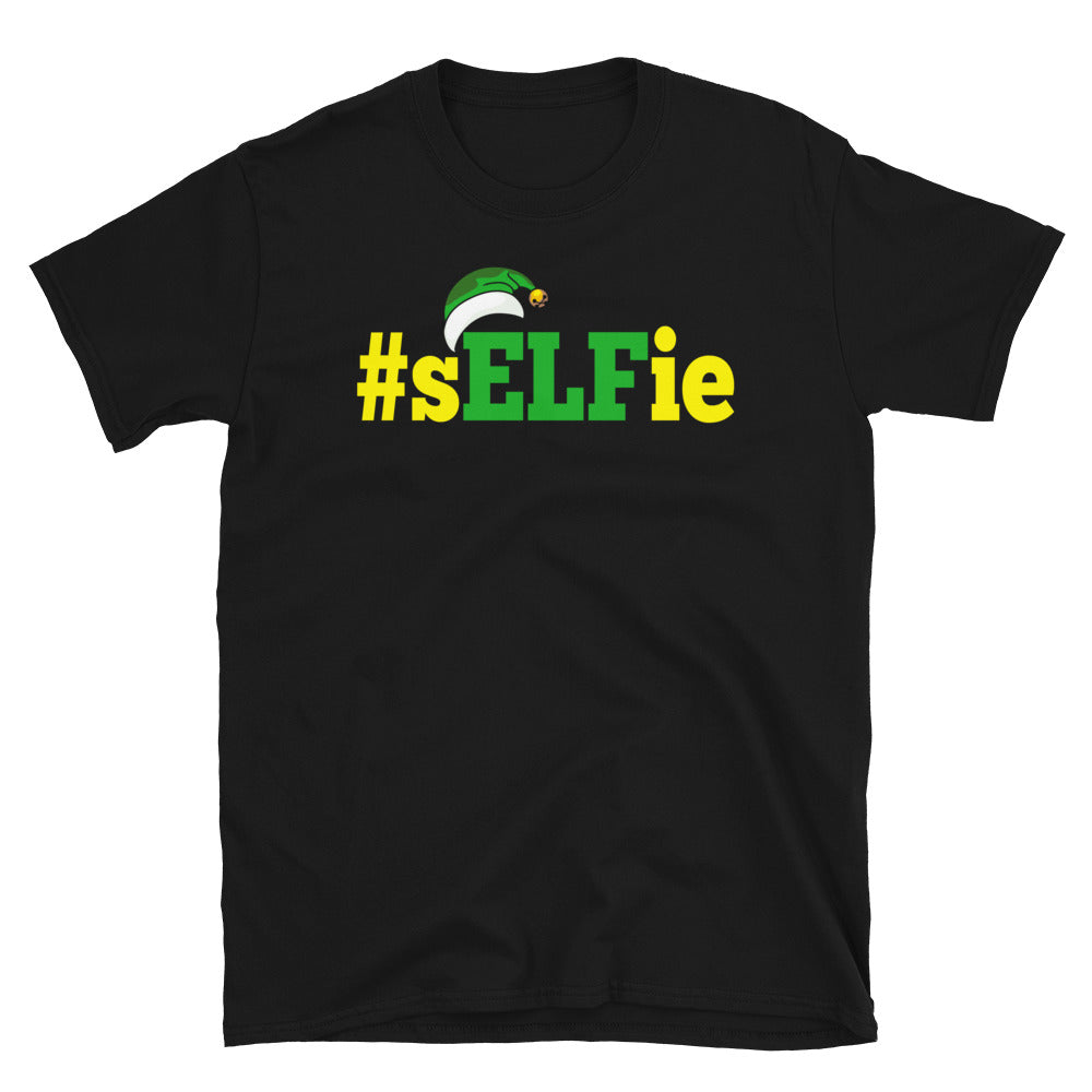 sELFie Short-Sleeve Unisex T-Shirt - Crazy About Tshirts