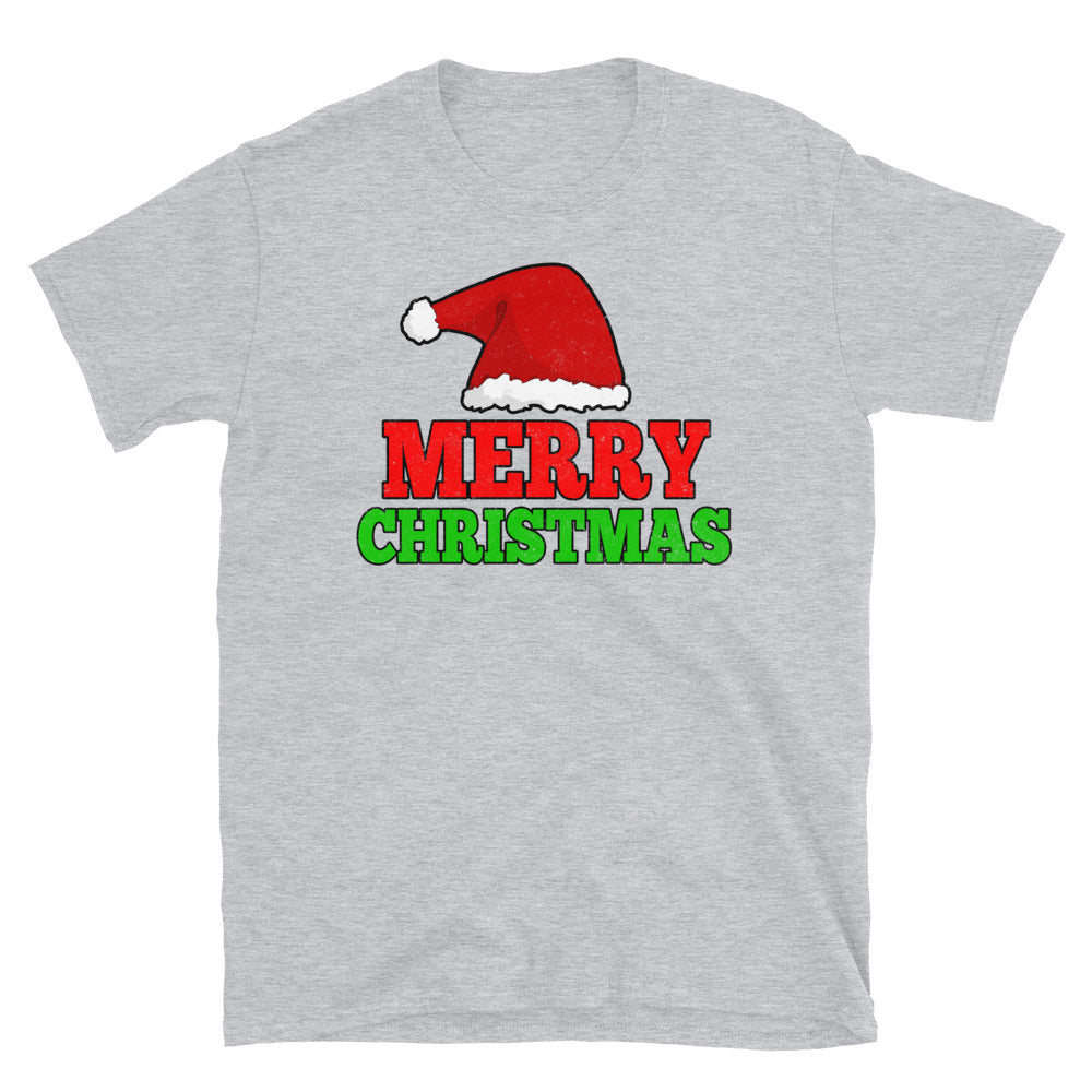Merry Christmas Short-Sleeve T-Shirt - Crazy About Tshirts