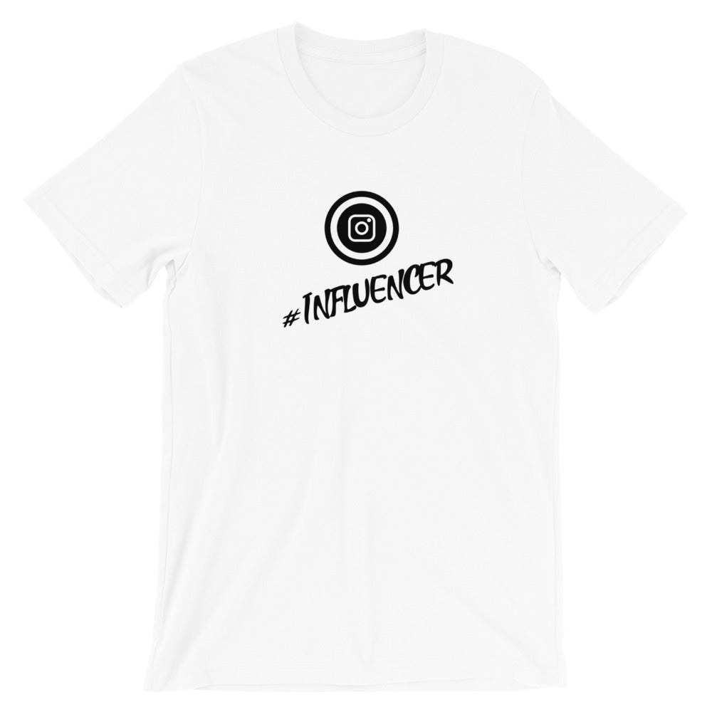 Influencer Short-Sleeve Unisex T-Shirt - Crazy About Tshirts