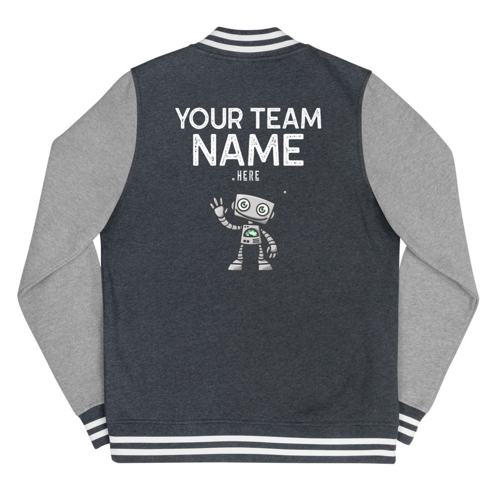 Customized Women's Letterman Jacket - Crazy About Tshirts